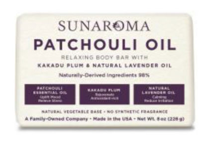 Patchouli Oil Body Bar
