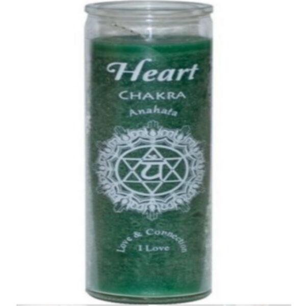Heart Chakra Candle