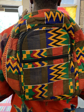 Afrocentric Backpack