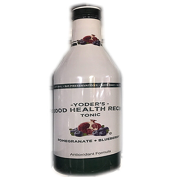 Yoder's Good Health Recipe Tonic Pomegranate & Blueberry