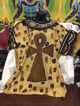 Custom Ankh Print Tshirt